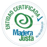 Sello Madera Justa entidad certificada
