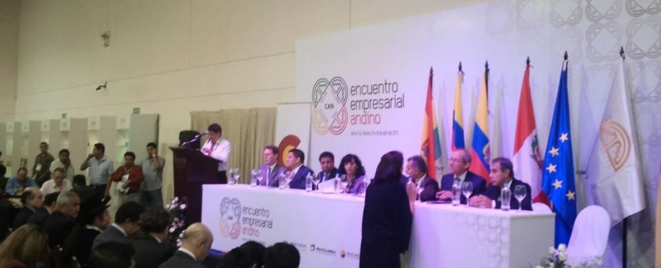 Encuentro Nacional Andino Madera Justa