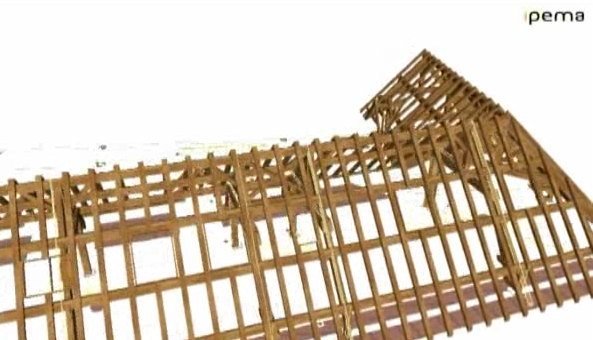 Ipema, casas de madera