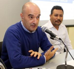 Francisco Javier Gaviria, jefe de producto de jardín en LEROY MERLIN (a la izquierda), junto a Julio Escalante, Presidente de FORESCOM.