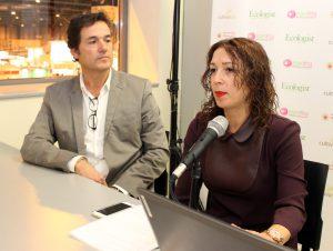Vidal de Teresa y Luisa Fiona Wilsher, responsables de la compañía MADINTER.